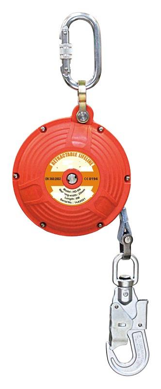 Fall Protection Self Retractable Fall Arrester & Emergency Absorbe Retractable Lifeline(HD-6N(3))